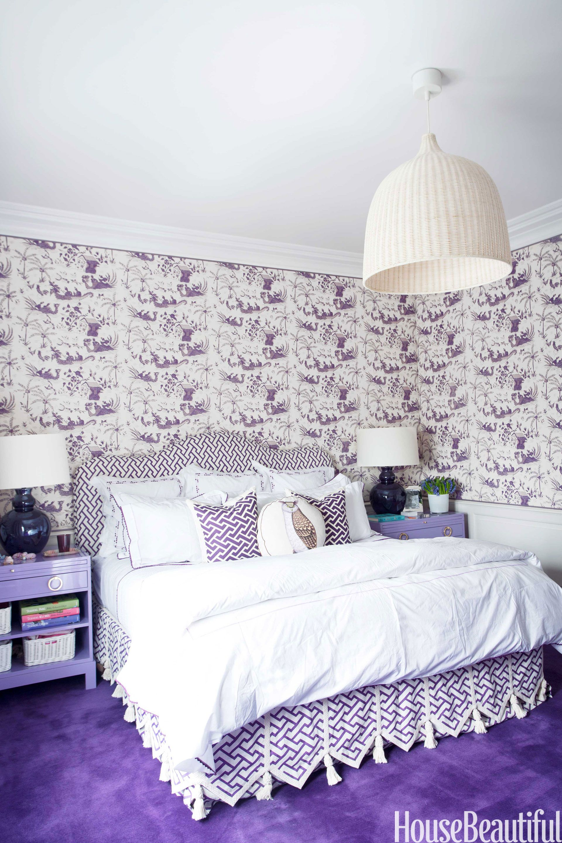 Lavender And Lilac Bedroom Decor