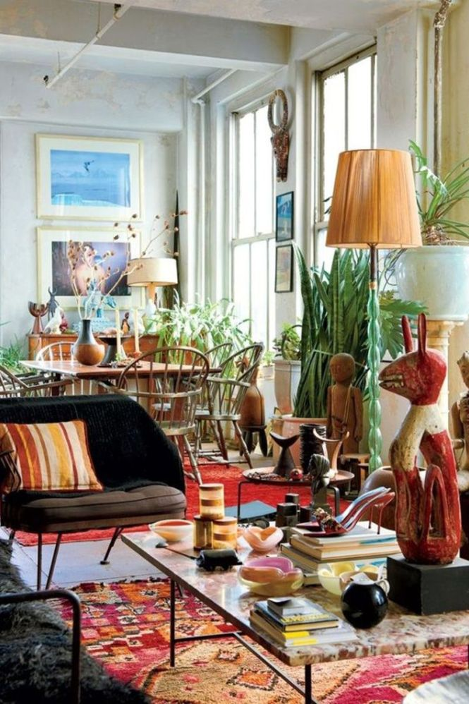 Back To Bohemian Home Decor For Whimsical Decoration