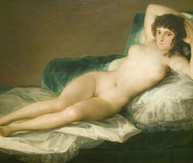 Goyas Nude Maja Confident In Her Nakedness As She Unashamedly Gazes Out