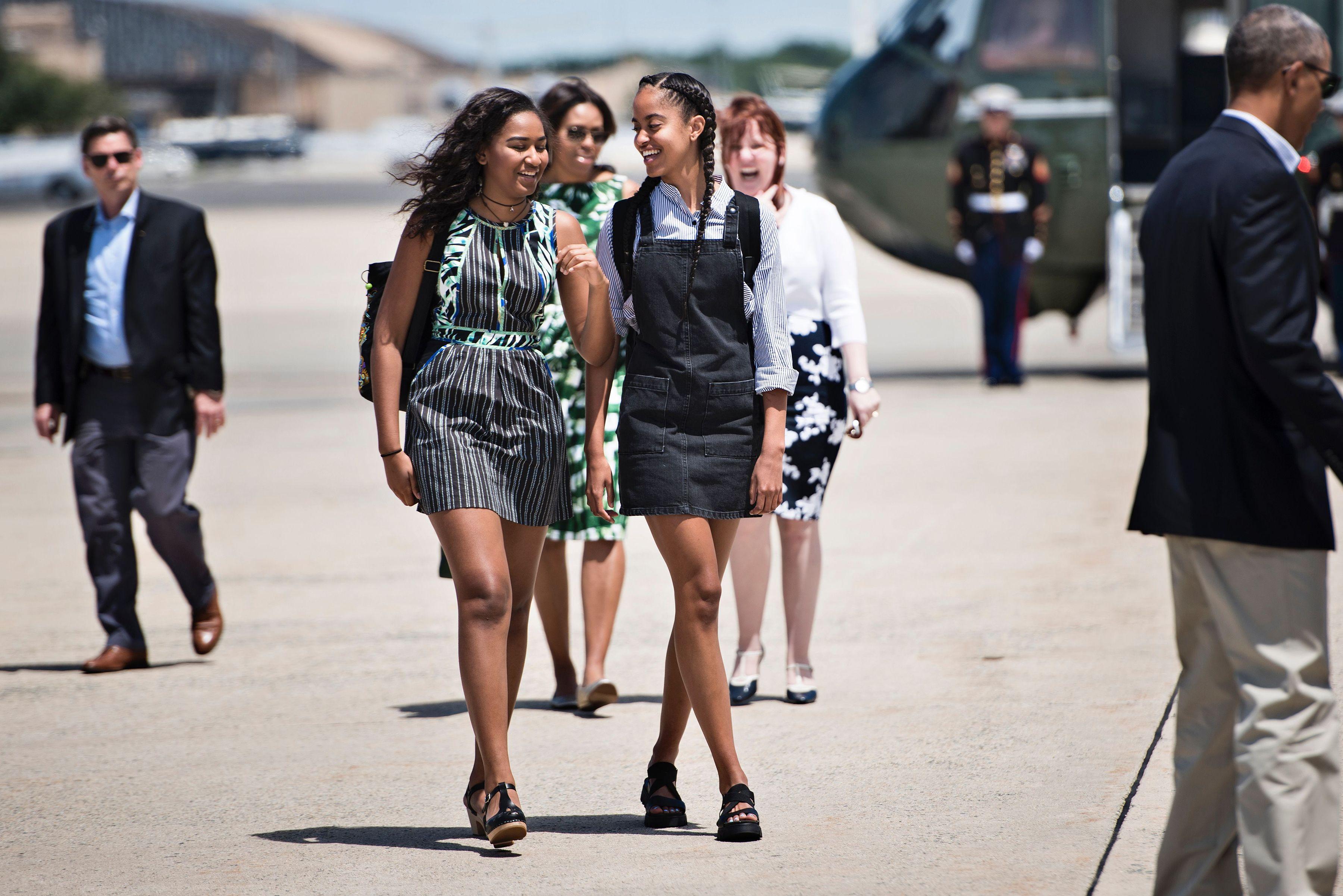 Obama girls 2017