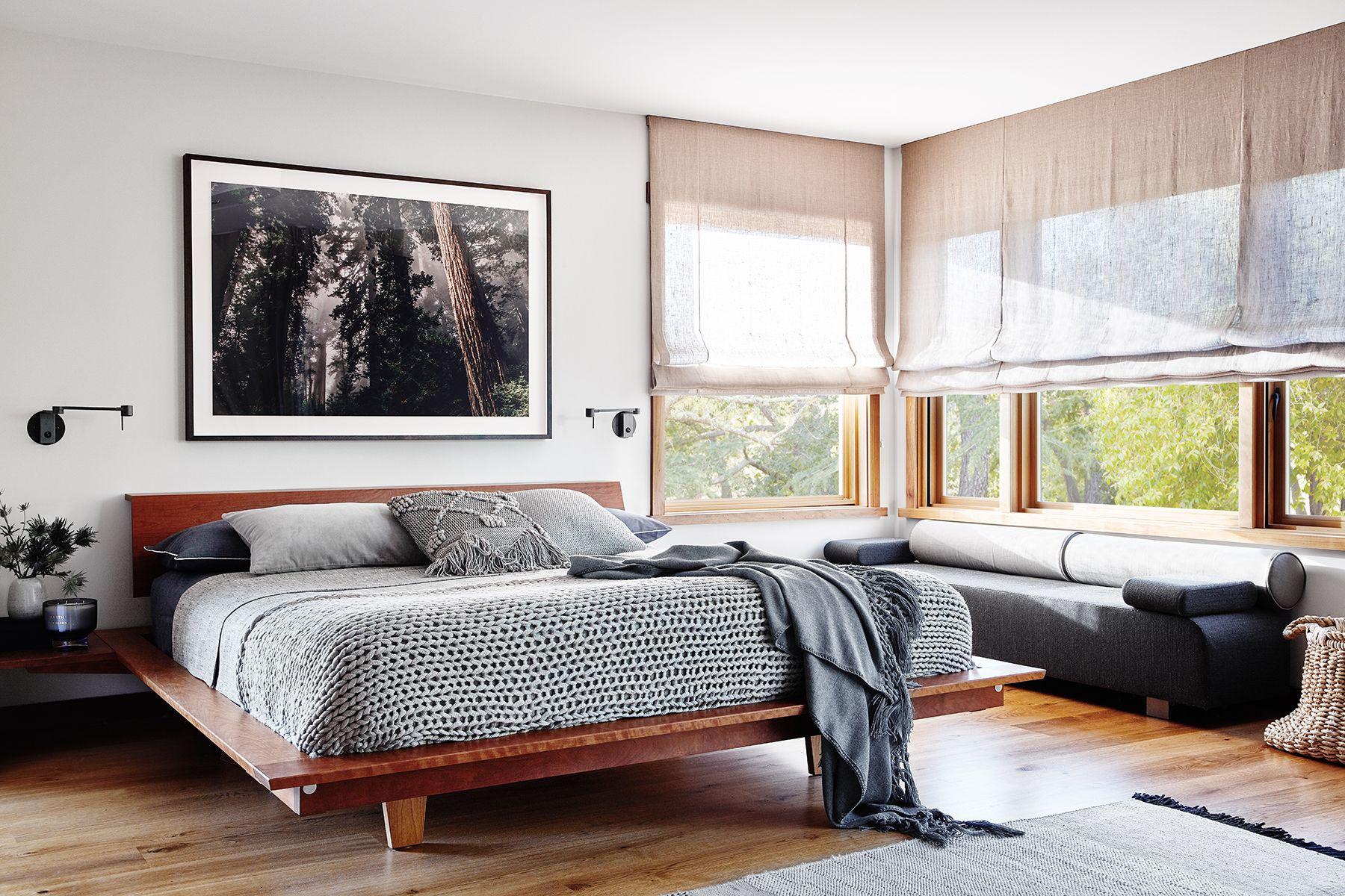 low platform bed ideas