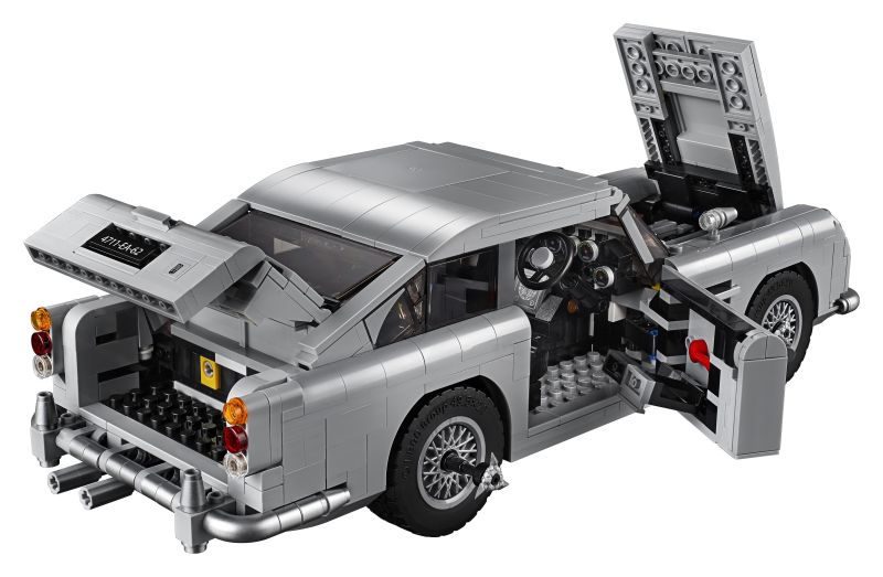 LEGO Is Making a James Bond Aston Martin DB5 Complete with Tire Slashers and Ejector Seat 1