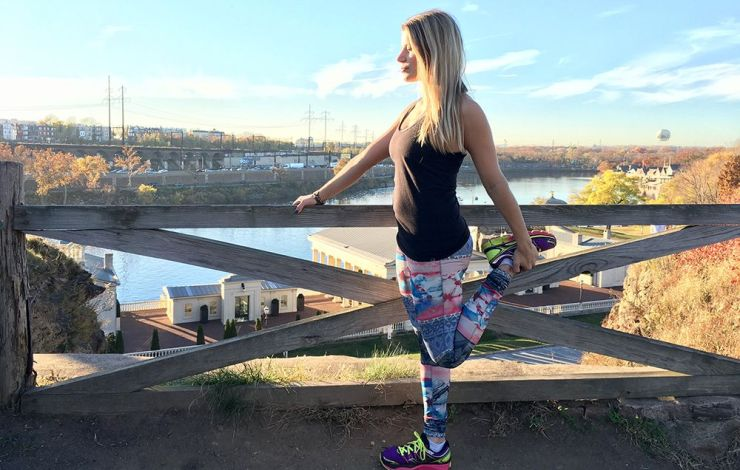 Gina Focusing on posture