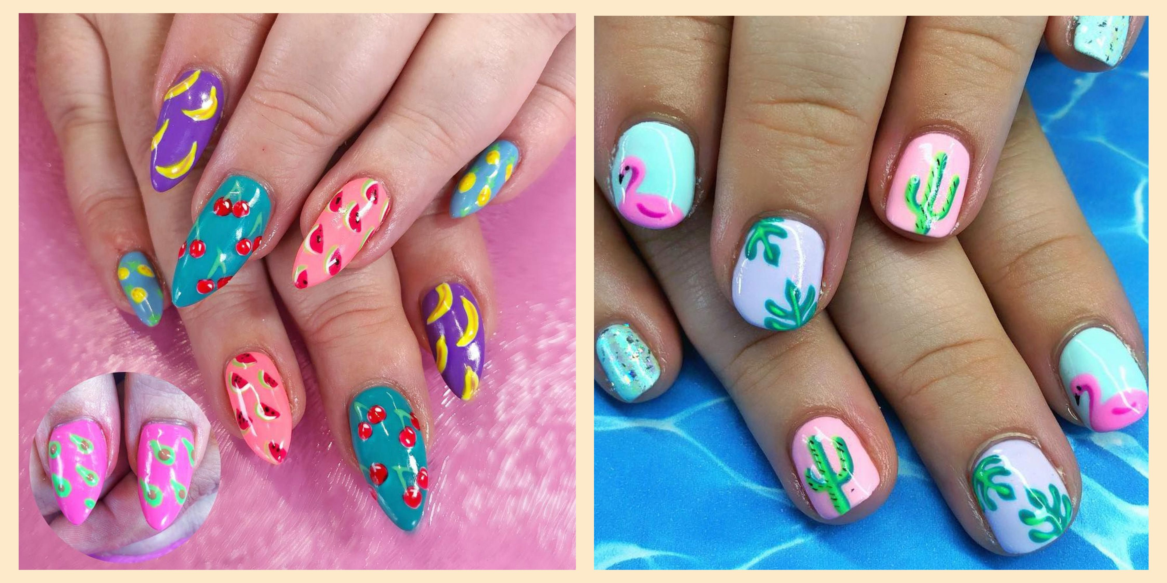 30 Summer Nail Art For 2019 Best Nail Polish Designs For Summer