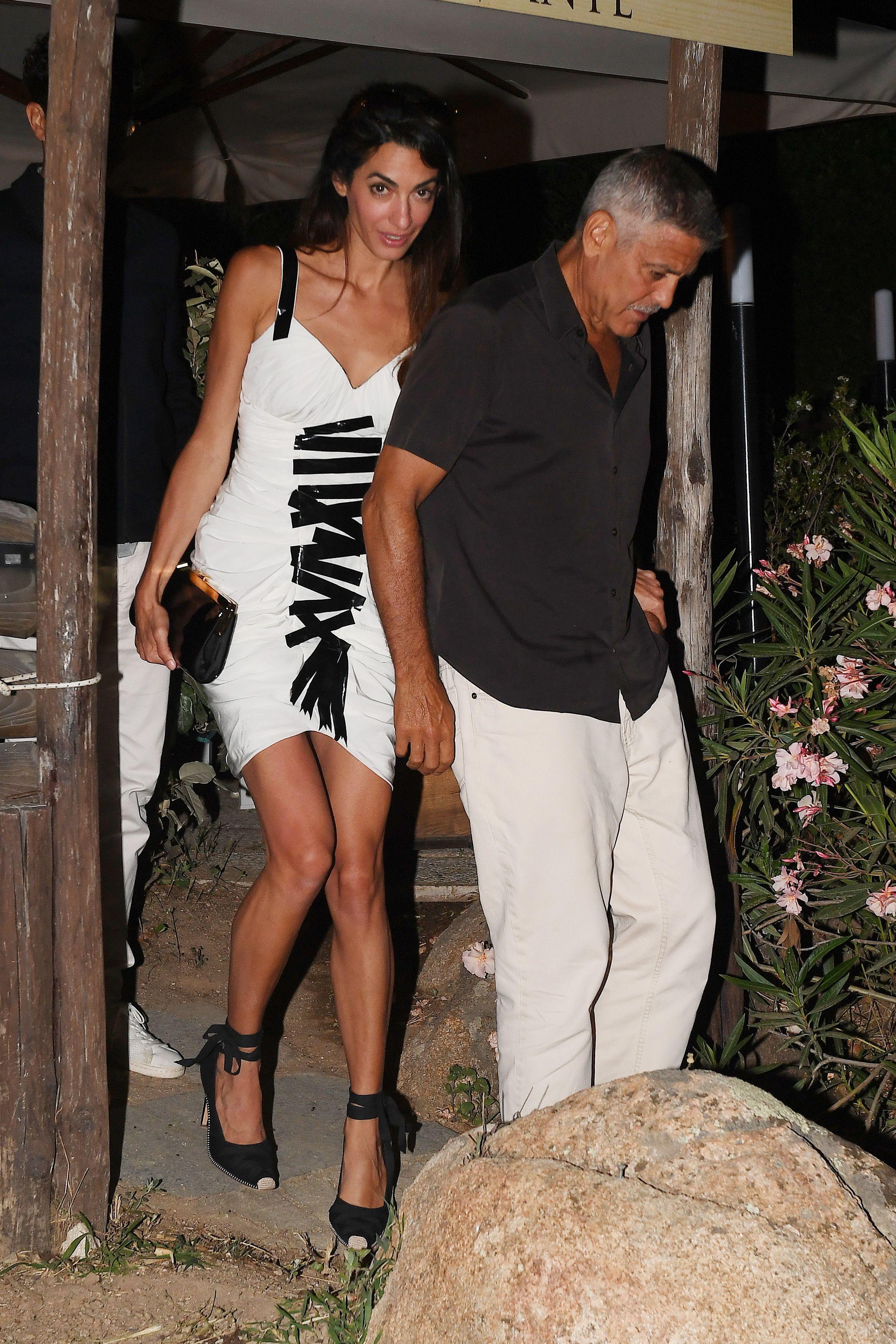 Silk Amal Style Clooney Scarf