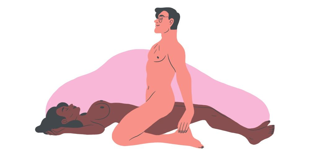 sex positions that help period cramps