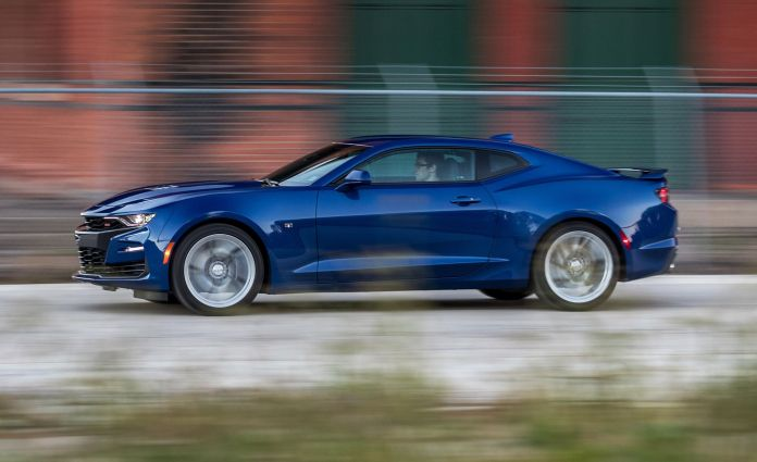 2019 Chevy Camaro Ss Auto Is Quick And Compromised