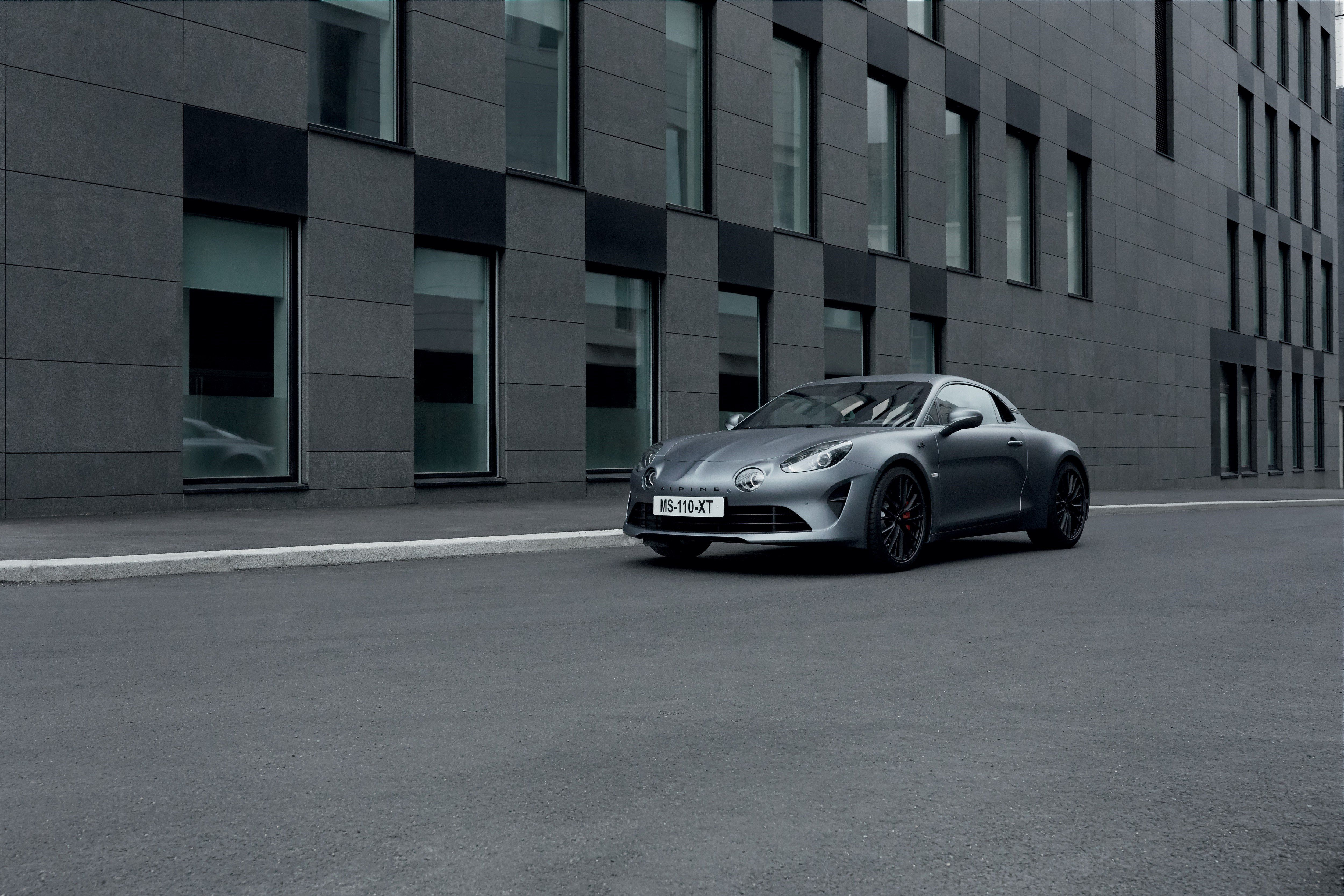 Alpine A110 Sports Car New A110s Performance Version