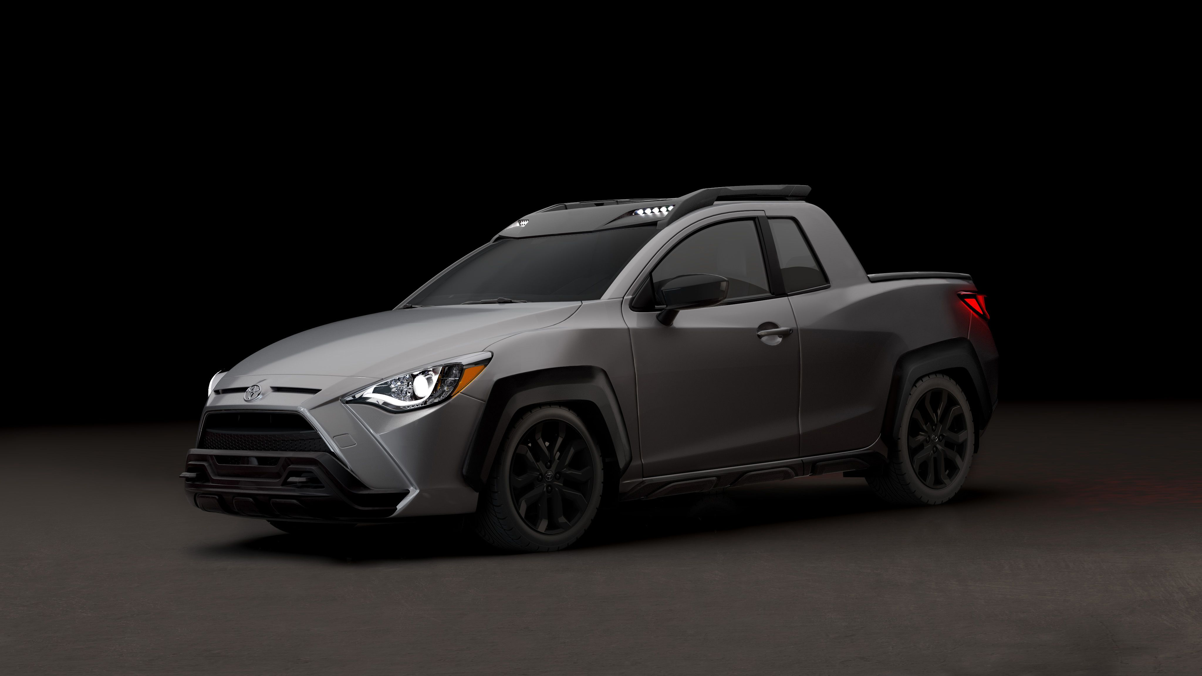 2020 Toyota Yaris Adventure Tiny Pickup Truck Makes April Fool S Day Debut