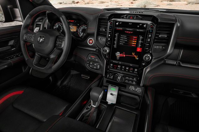 Inside the Civilized and Tech-Friendly 2021 Ram 1500 TRX