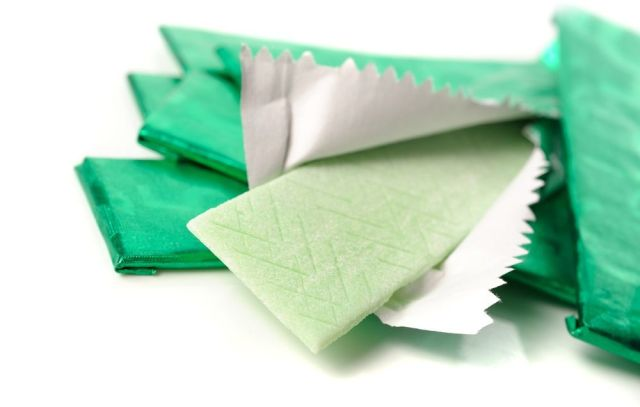 Sticks of chewing gum
