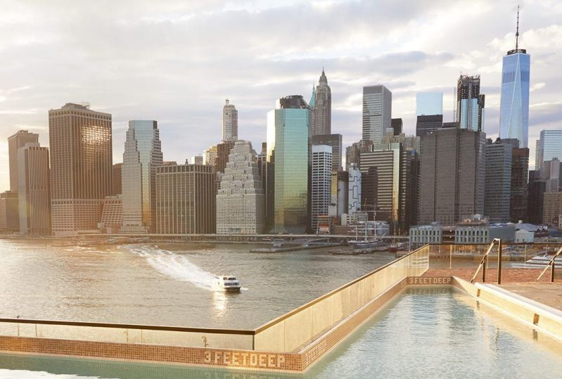 These Are New York's 6 Best Hotel Pools 6