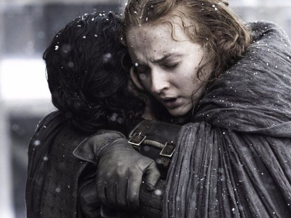 Sophie Turner and Kit Harington had tearful GoT reunion at the Emmys