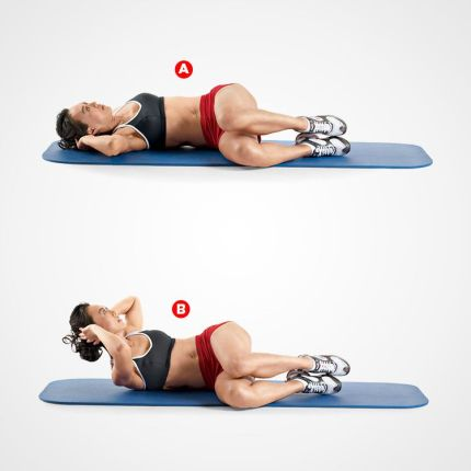 Image result for Oblique crunches  abs