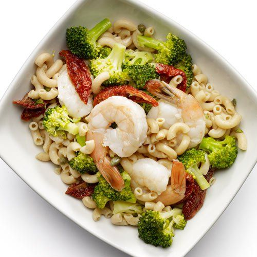 Shrimp and Broccoli Pasta Salad