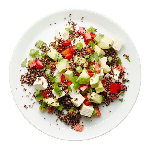 Zesty Tofu and Quinoa