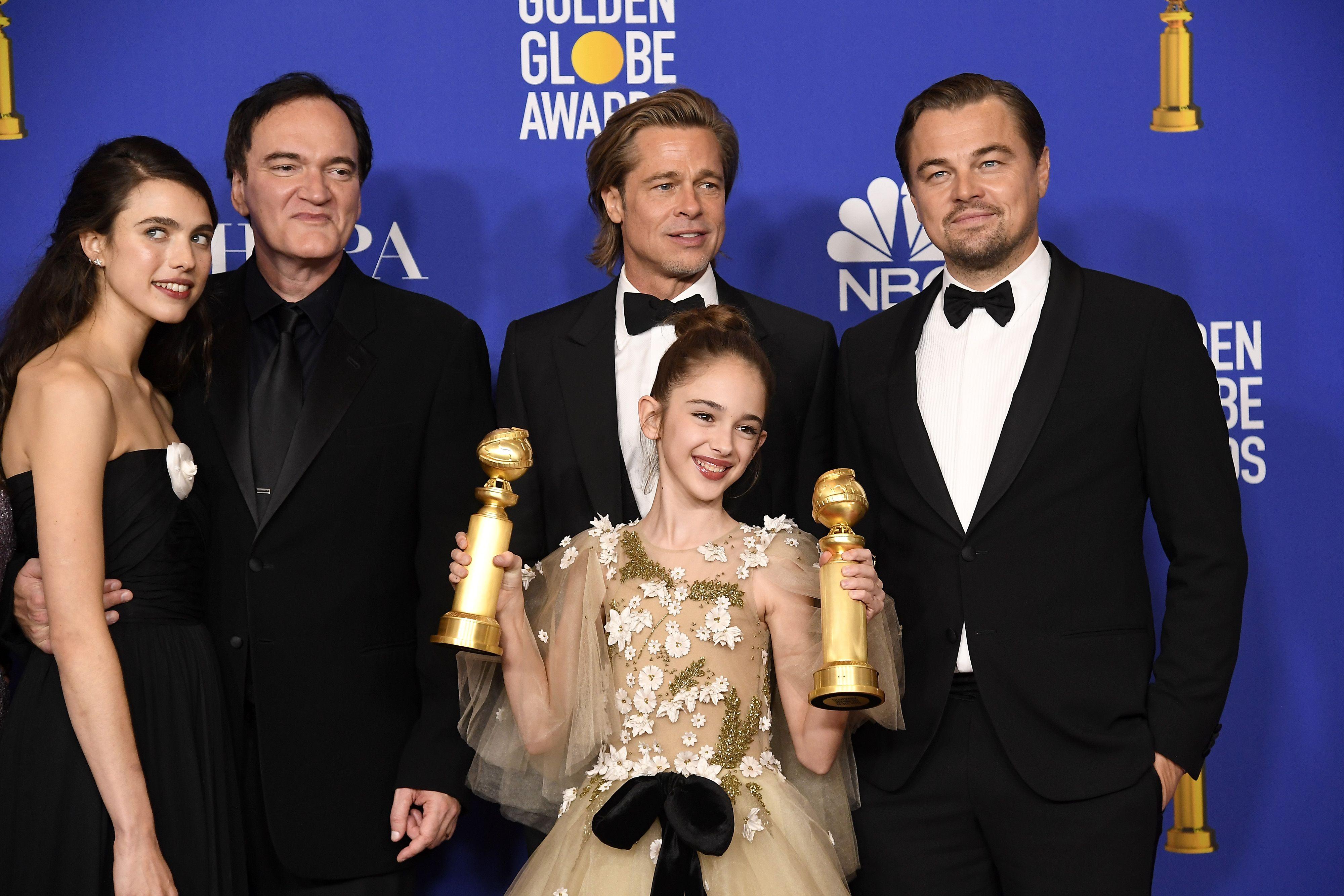 Quentin Tarantino - Érase una vez en Hollywood golden globes