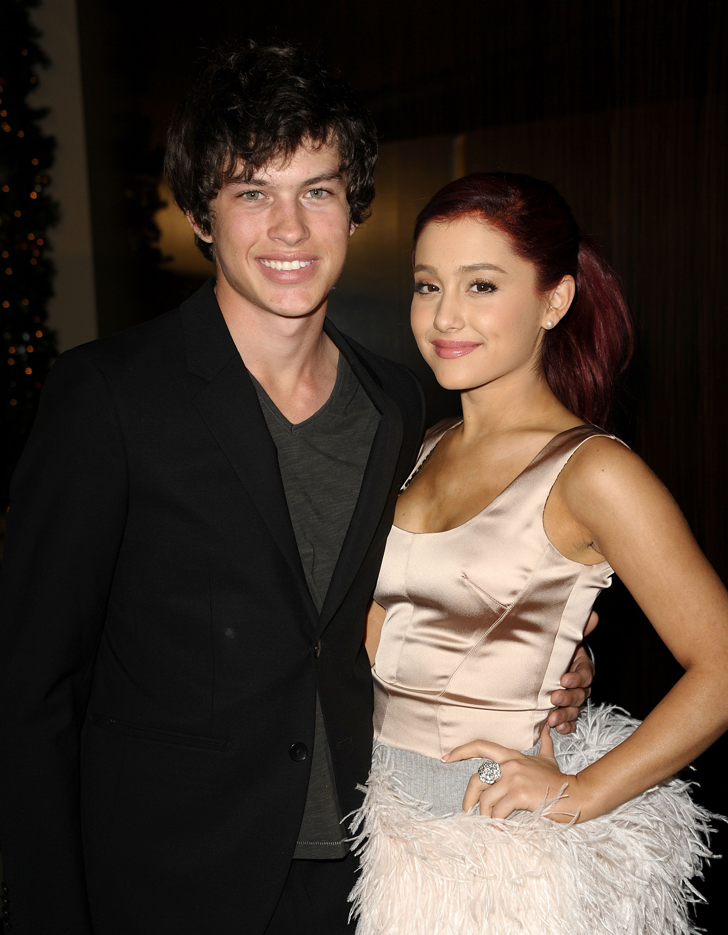 Image result for ariana grande and graham phillips