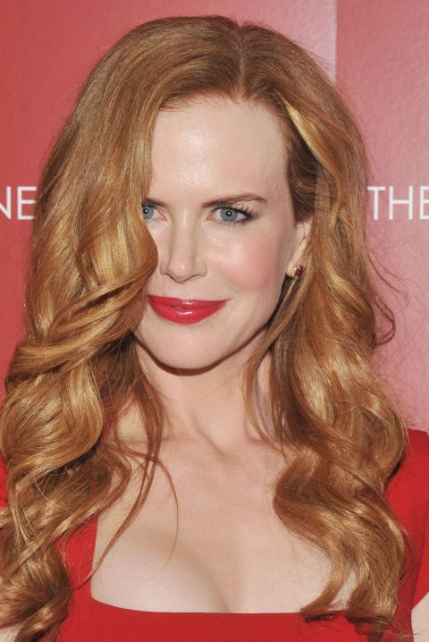 Curly Hairstyles - Nicole Kidman