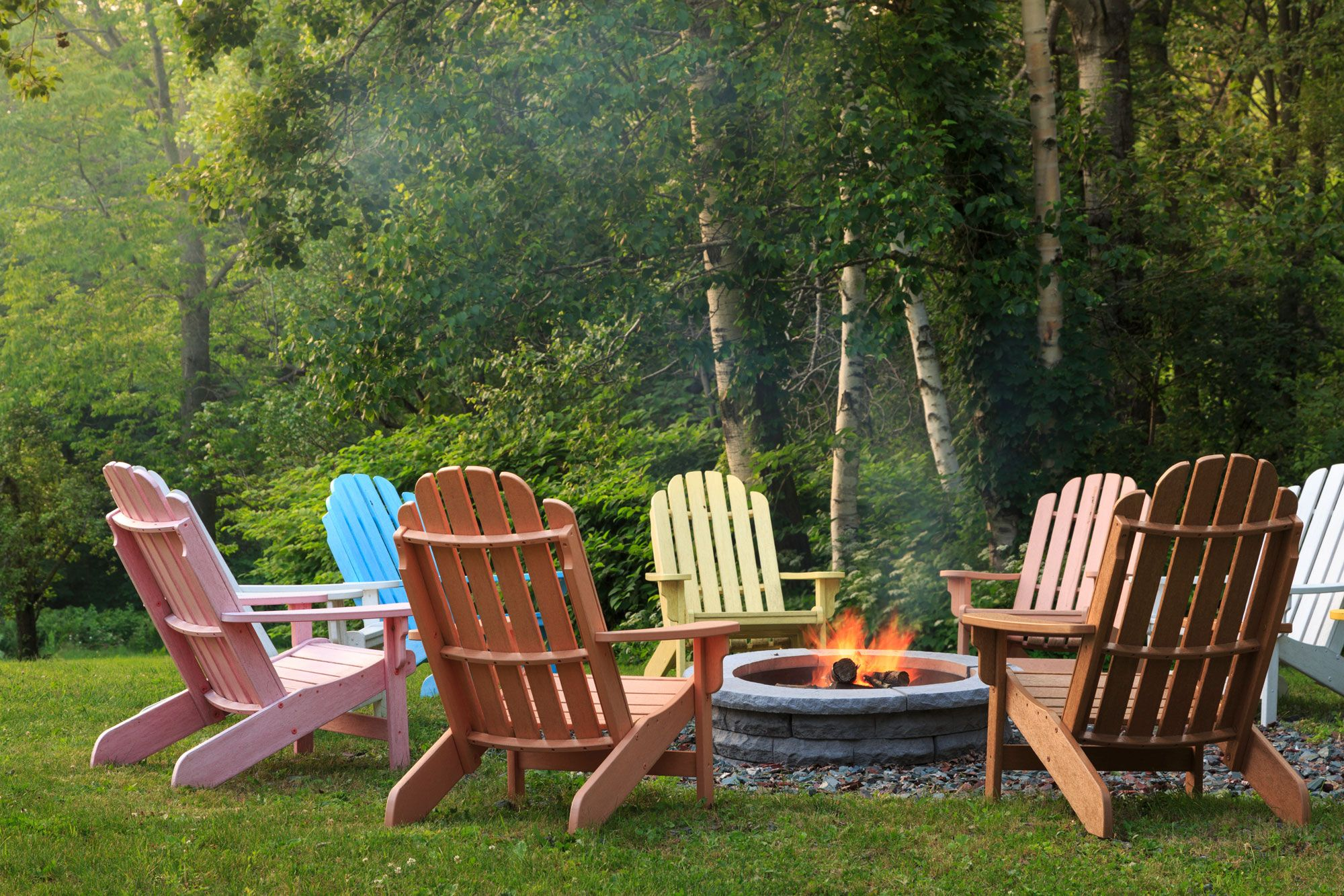 no matter where you live an adirondack chair is a backyard essential