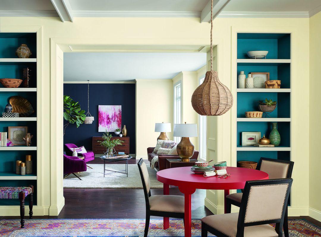 home decor colors trends 2018