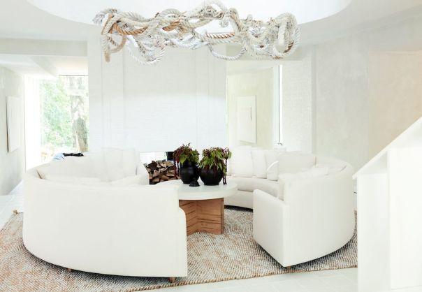 white minimalist living room ideas