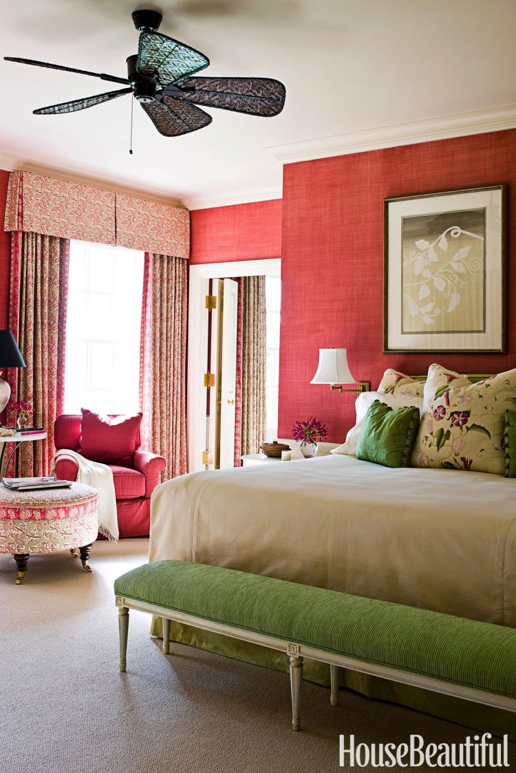 10 Red Bedroom Ideas Decorating A Red Bedroom