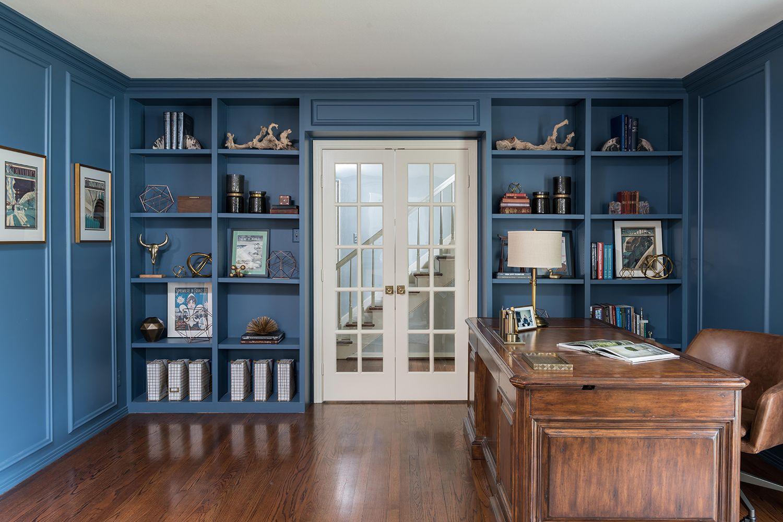 25 Stylish Built-In Bookshelves