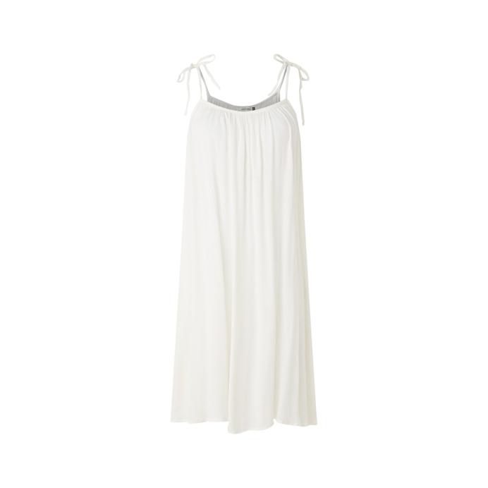 midi dress with spaghetti straps