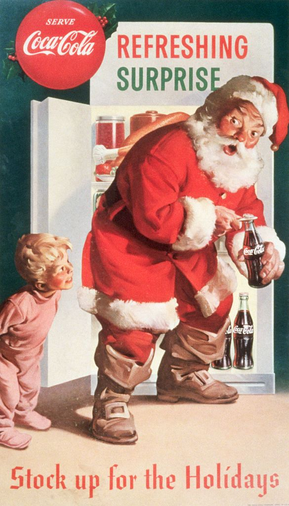 christmas facts -santa coca-cola advertisement