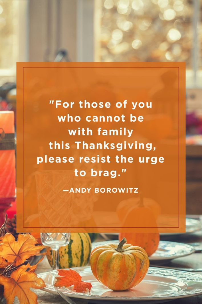 Andy Borowitz Funny Thanksgiving Quotes