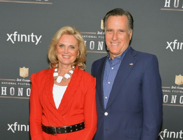 Celebrities with MS - ann romney