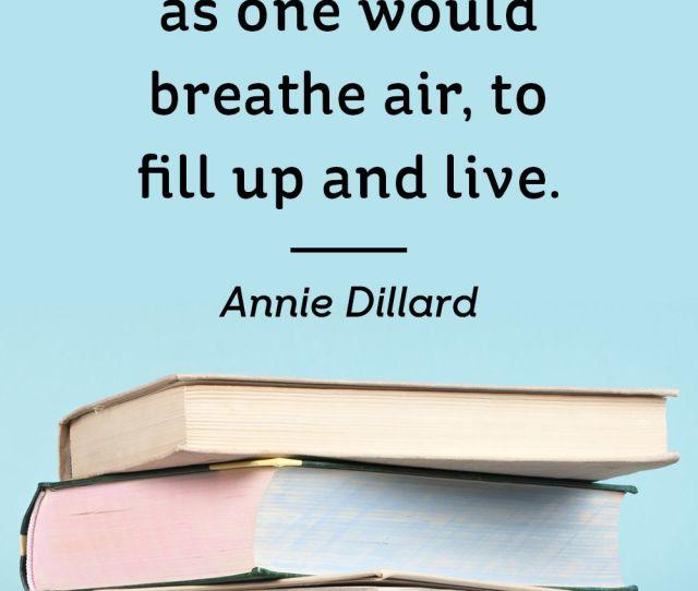 Annie Dillard Book Quotes