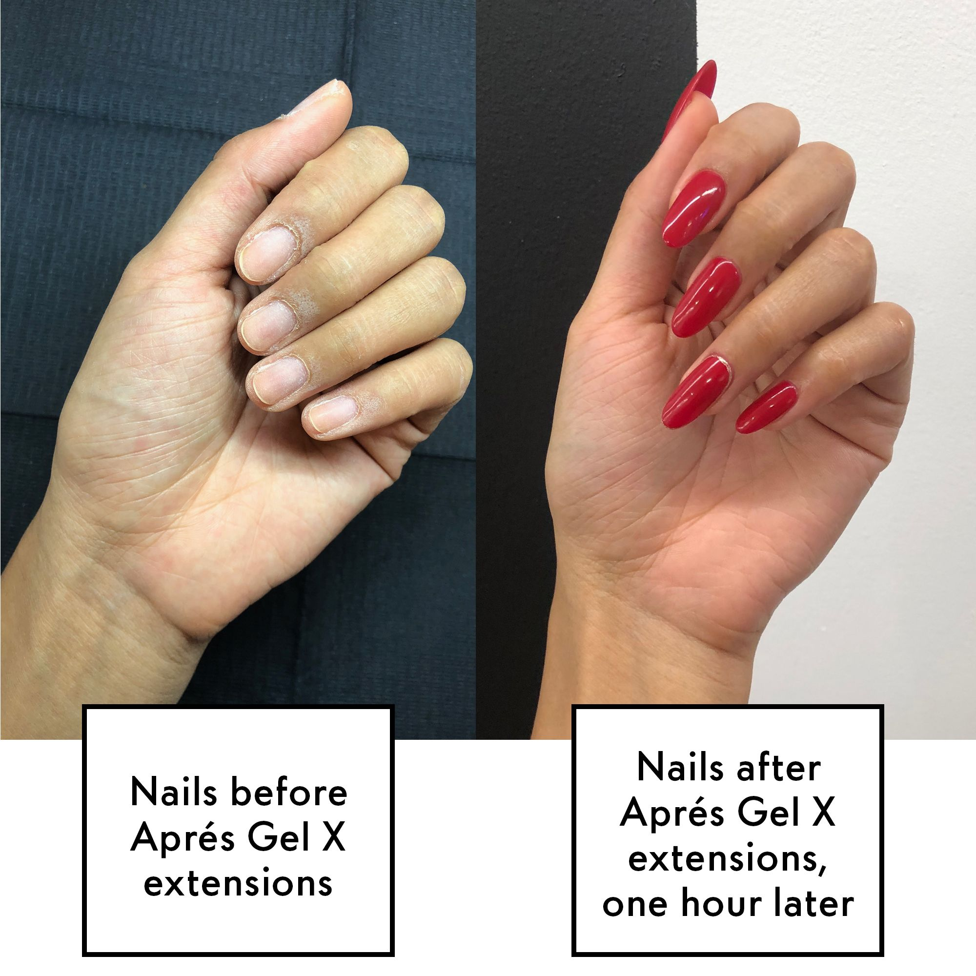 Gel Nail Extensions Vs Acrylics Fake Nails What Are Gel Nail