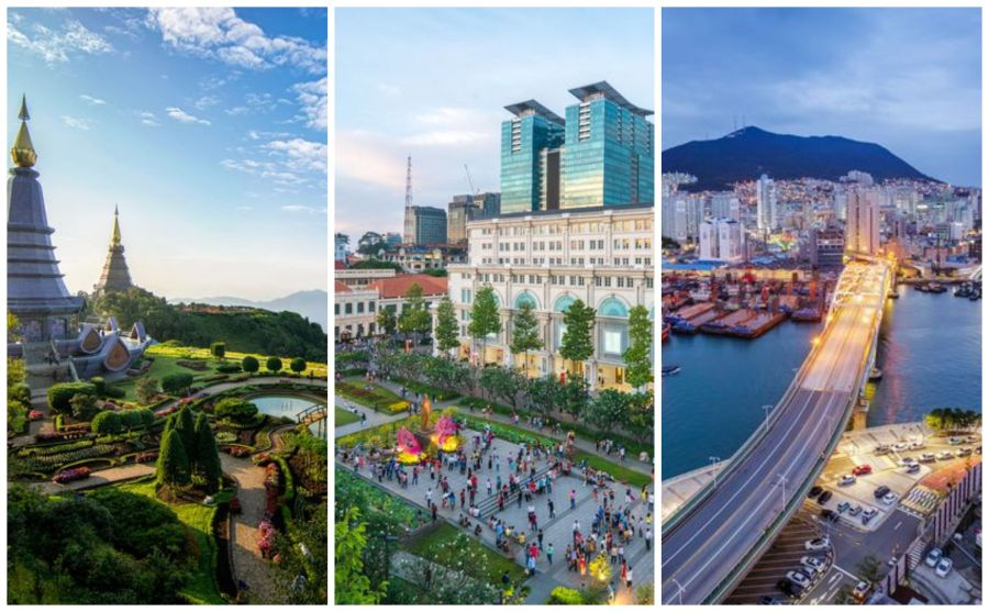Busan  South Korea is Asia s Best Place To Visit in 2018  Reveals     Best countries in Asia