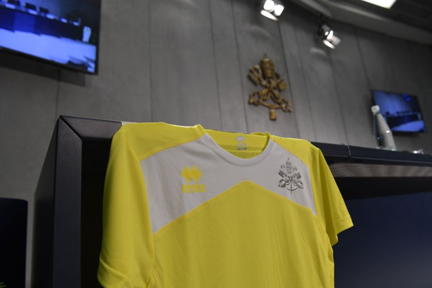 Vatican track and field jersey