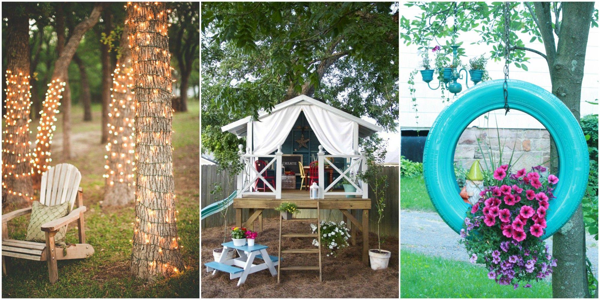 58 DIY Backyard Design Ideas