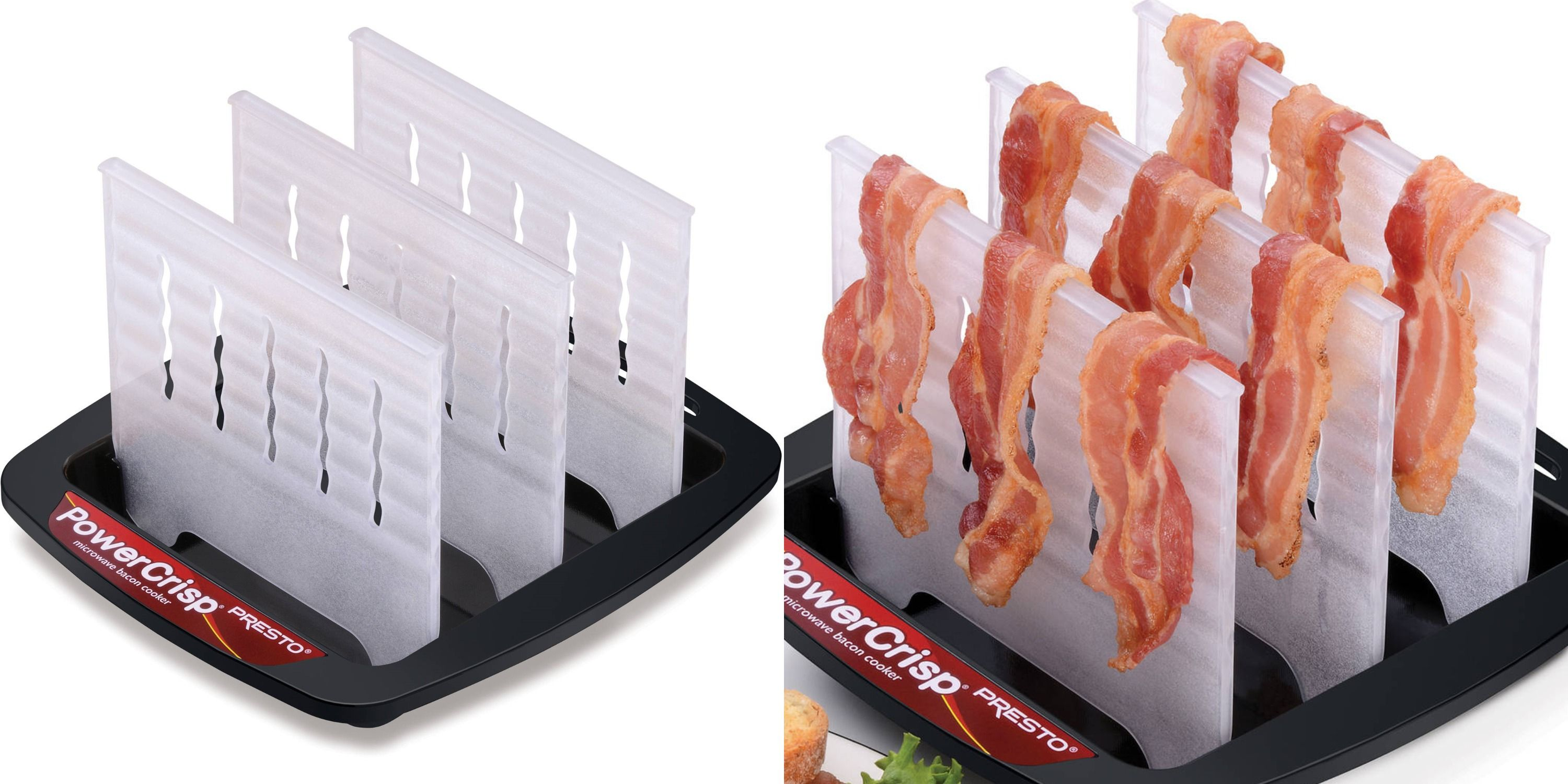 crispy bacon in the microwave