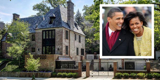 Obama Kalorama House - Photos Of The Obamas' New House In ...