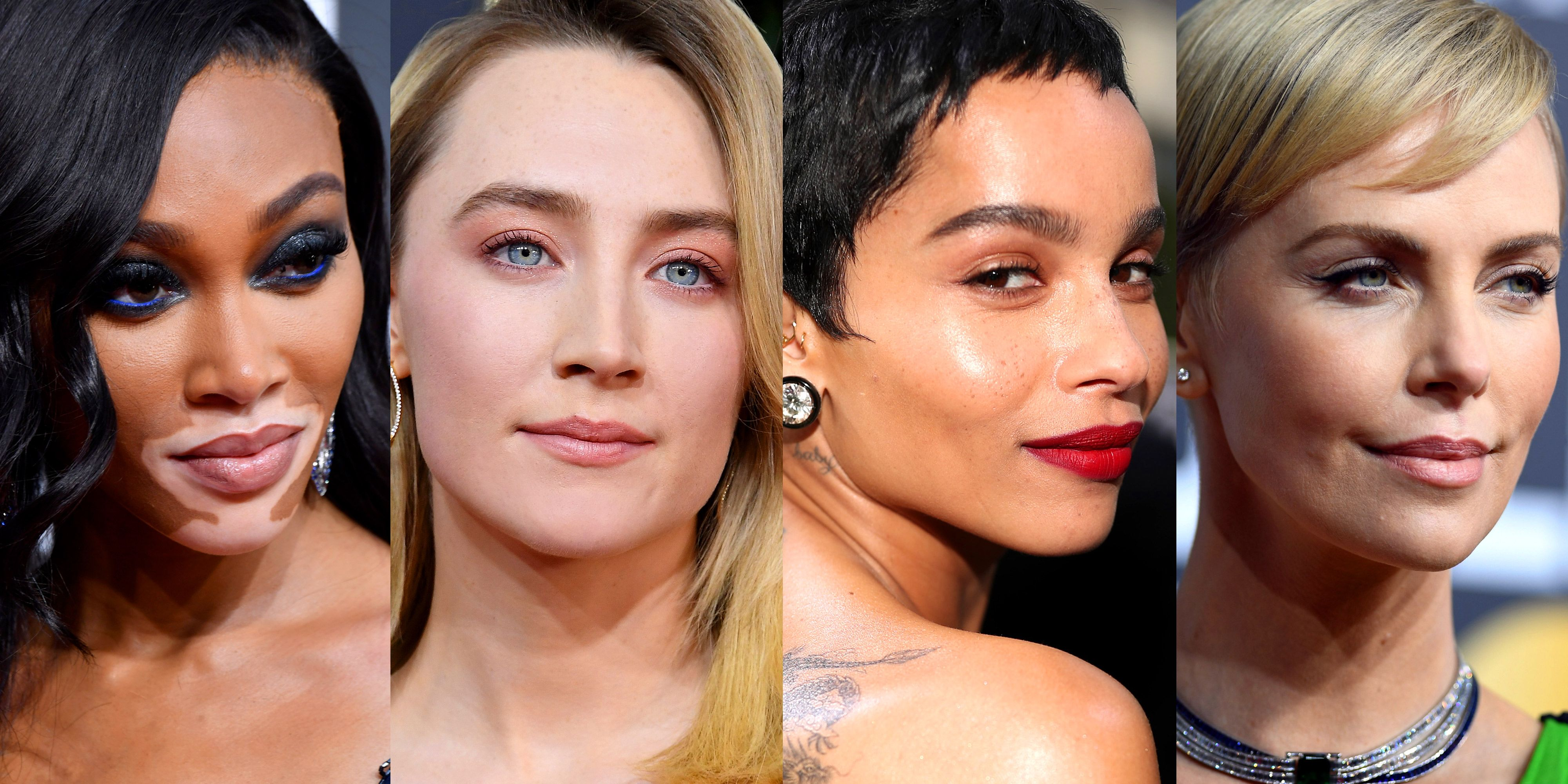 Best Golden Globes 2020 Hair Makeup Looks On The Red Carpet