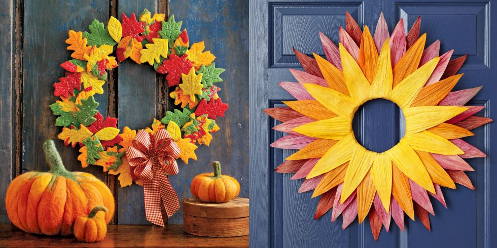 Best 43 Inspiration Cheap Diy Fall Wreaths Ideas To Beautify Your Home Decor