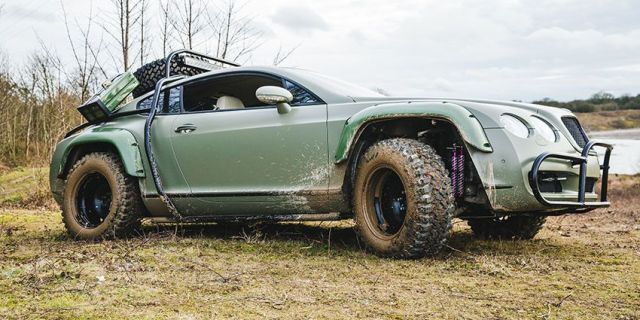 Image result for off-road Bentley