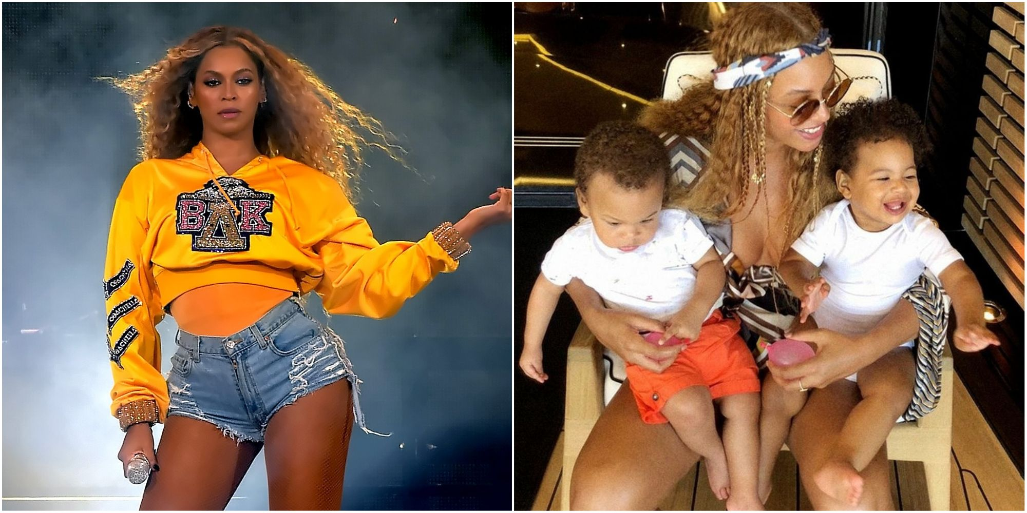 beyonce s twins look adorable laughing