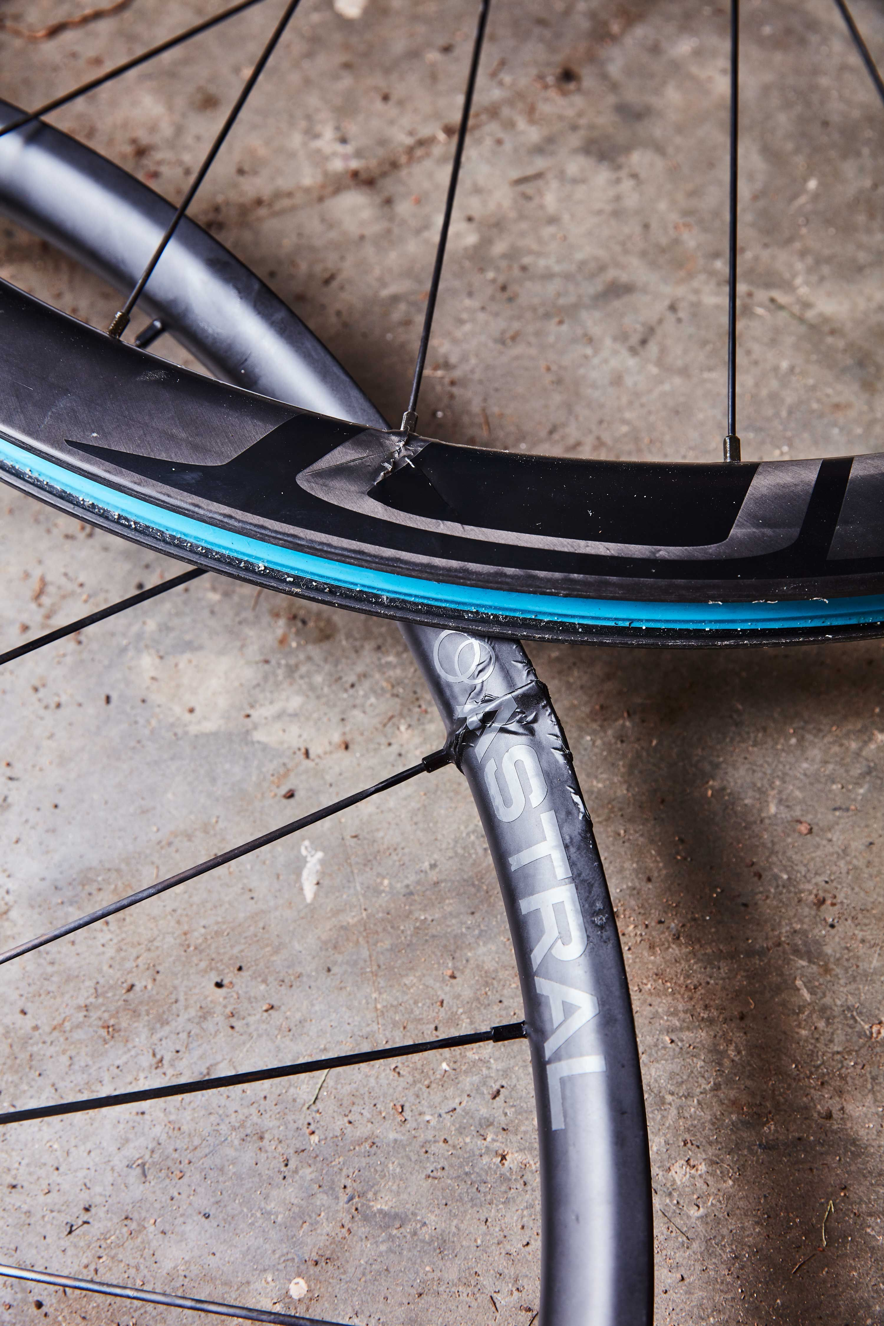 your hitch rack might be damaging your