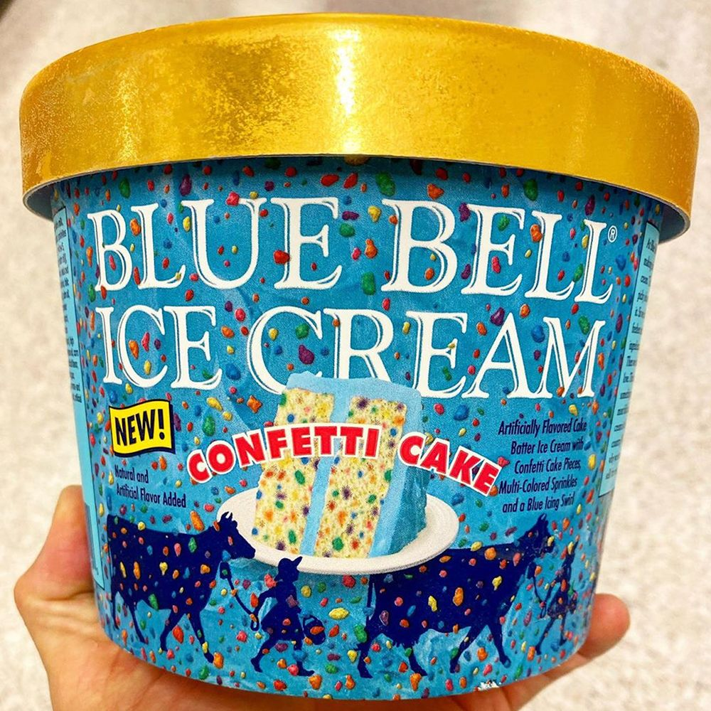 Blue Bell S New Confetti Cake Ice Cream Will Have You Scooping More Than One Serving