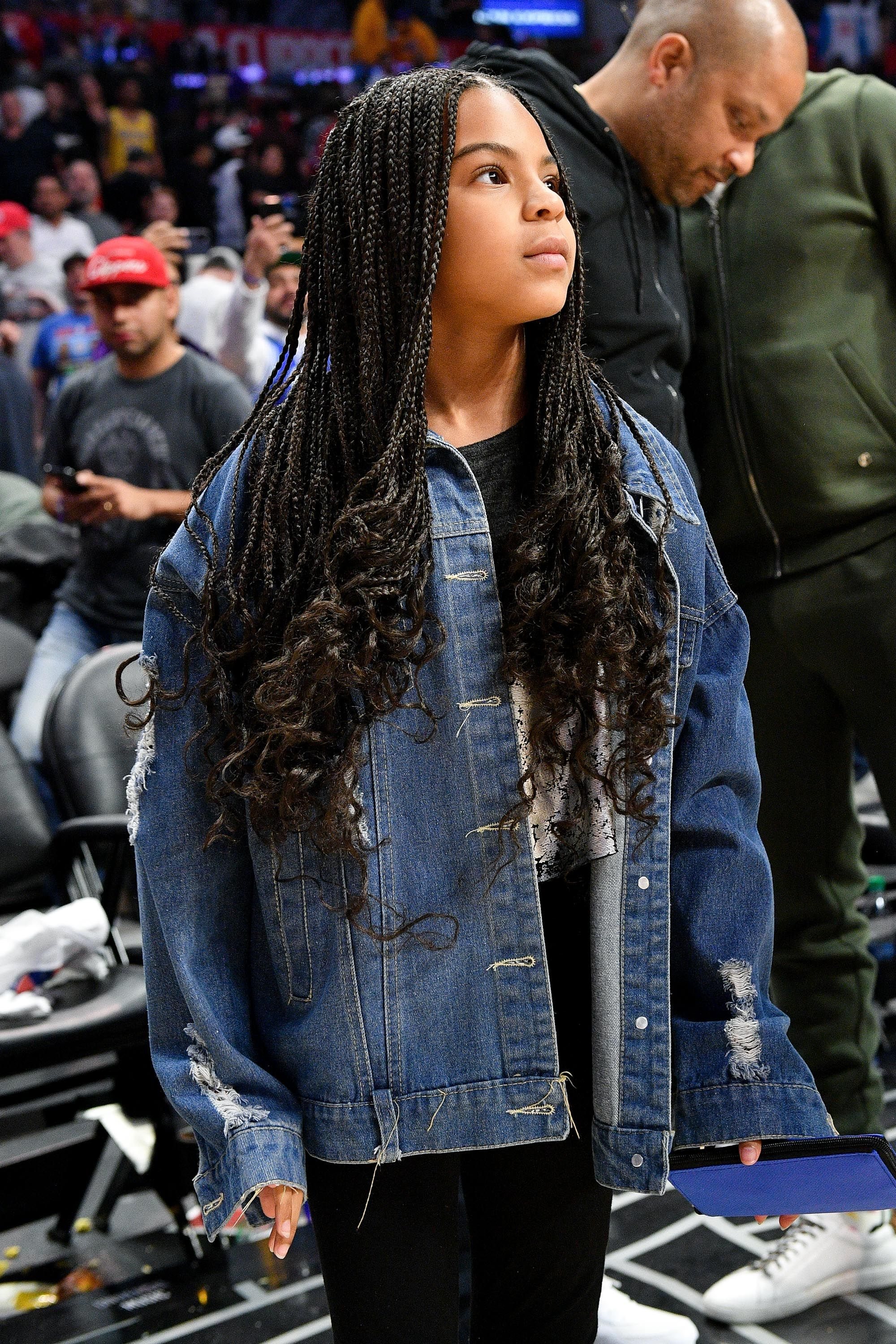 blue ivy carter wore a great outfit