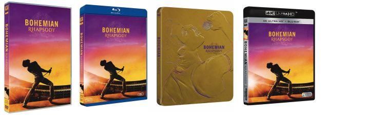 Bohemian Rhapsody dvd bluray
