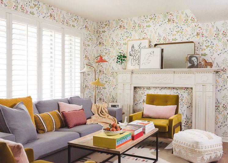 boho living room ideas, the house that lars built