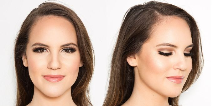 what i learned from trying 5 popular wedding makeup options