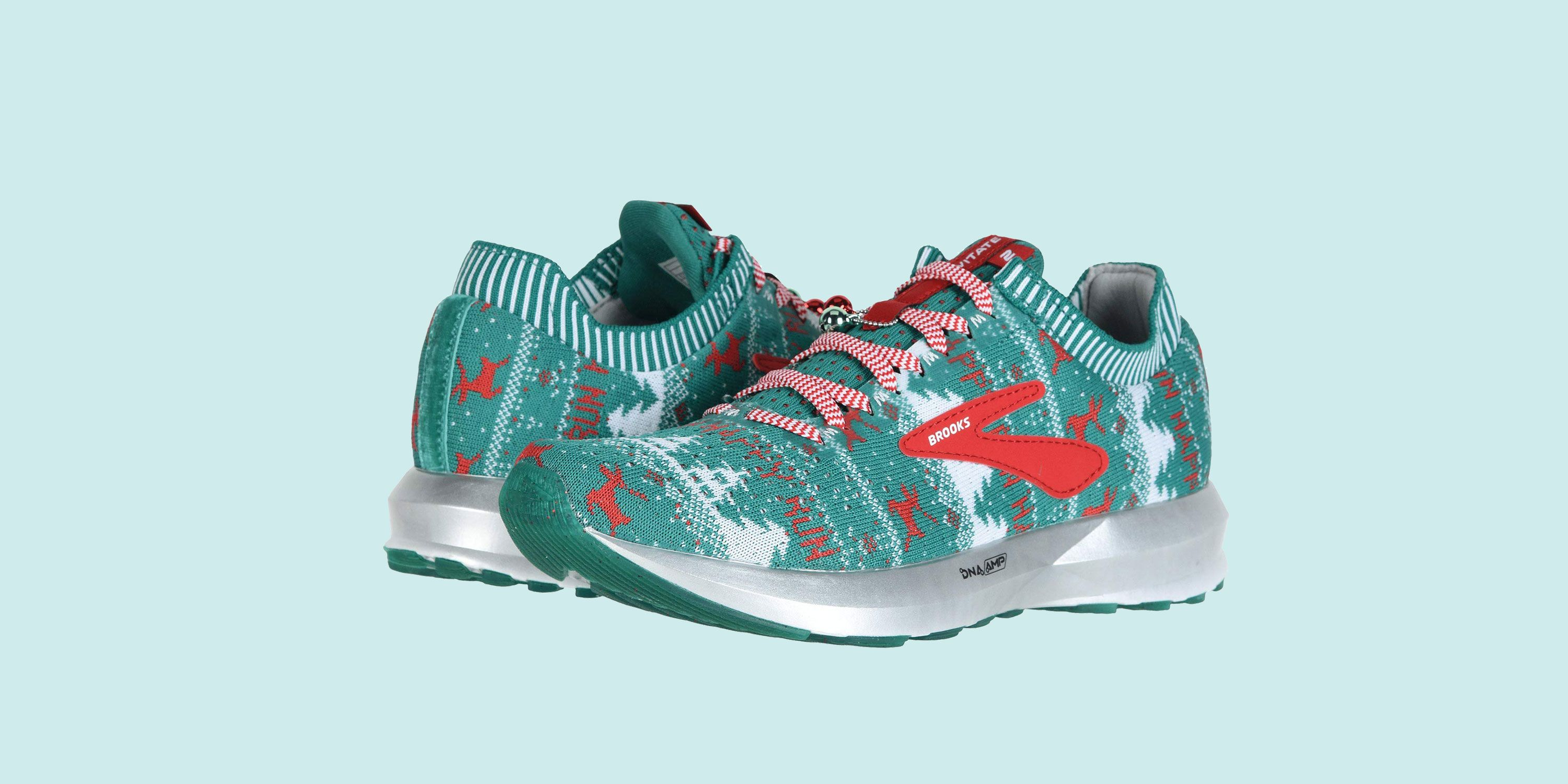 Brooks Christmas Shoes Are Like An Ugly Sweater For Your Feet